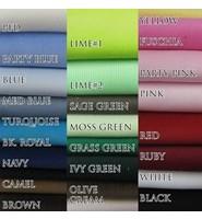 不同染整加工对坯布的要求