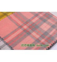 纯棉色织提花织物染整工艺