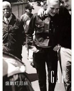 快时尚品牌GAP,在20世纪90年代灯芯绒的火爆