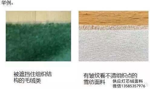 说说面料那些事:机织物密度