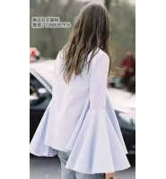 服装造型术语:袖子的造型名称