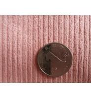 8条纬弹灯芯绒面料/淡粉色/潘通色15-1515TPX