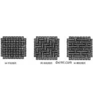 机织物三原组织:平纹组织、斜纹组织、缎纹组织比较