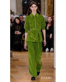 巴黎秋冬时装周,灯芯绒时尚