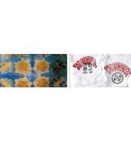 面料的印花工艺流程知识:面料印花的方法及其特点