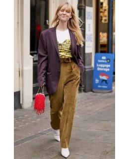 加厚灯芯绒长裤 冬季帅气裤装
