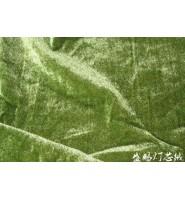 乔其绒是用桑蚕丝和粘胶人造丝交织的双层经起绒丝织物