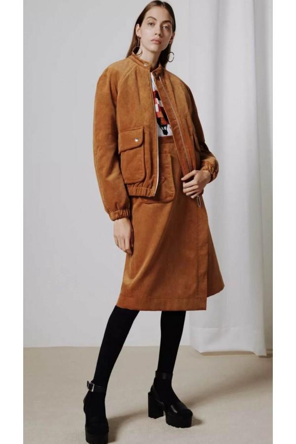 Markus Lupfer 2020灯芯绒时尚,咖啡色,质朴、雅致和庄重
