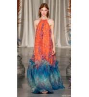 时尚流行:简约线形设计搭配复古色调的波西米亚风格印花