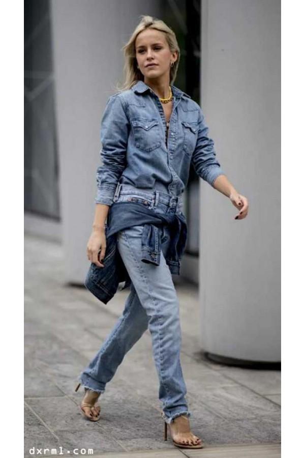 时尚圈流行牛仔单品经久不衰-3