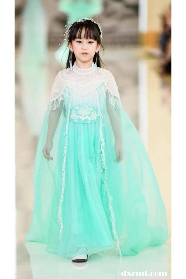 云肩·中国传统服饰之美!