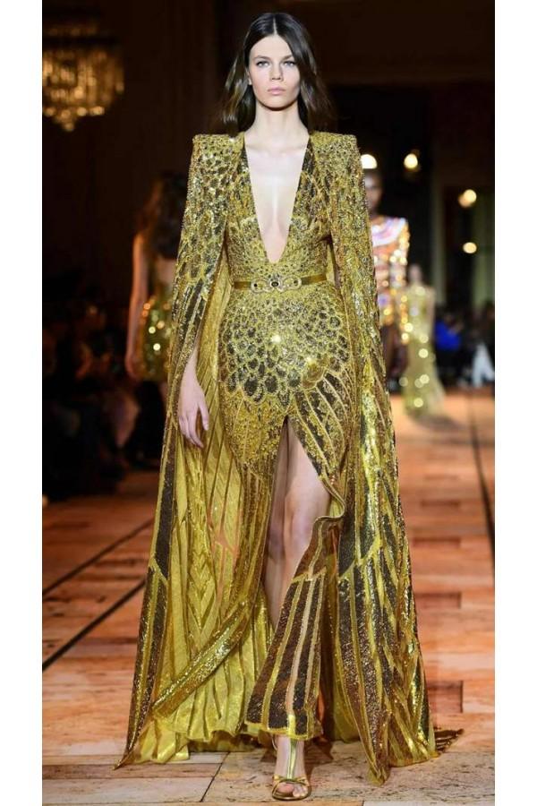 黎巴嫩奢侈礼服品牌Zuhair Murad典雅奢华的巴洛克宫廷风格