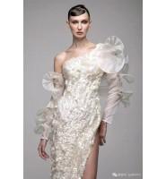 """如艺术品的彩色礼服来自黎巴嫩""""浪漫仙裙"""""""