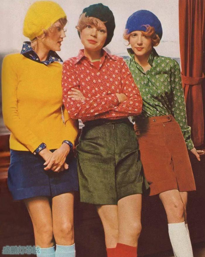 爱穿灯芯绒的法国女人
