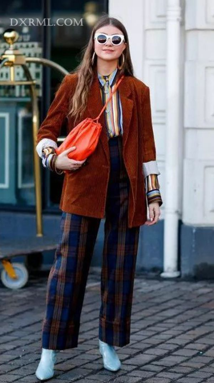 灯芯绒西装外套