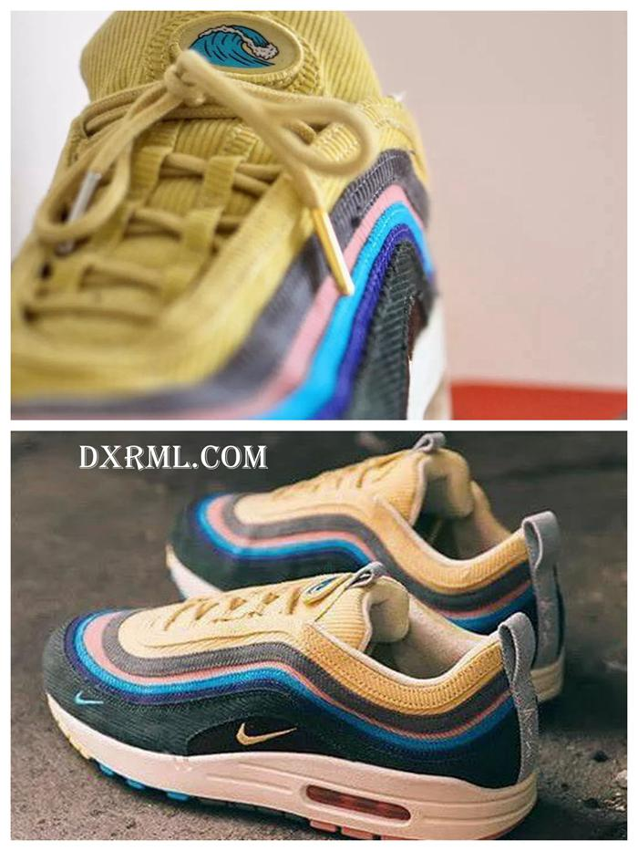 Sean Wotherspoon灯芯绒元素Air Max 97鞋面