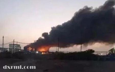 印度H酸中间体工厂发生大火