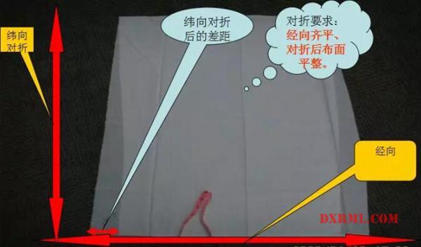 纬斜测量方法