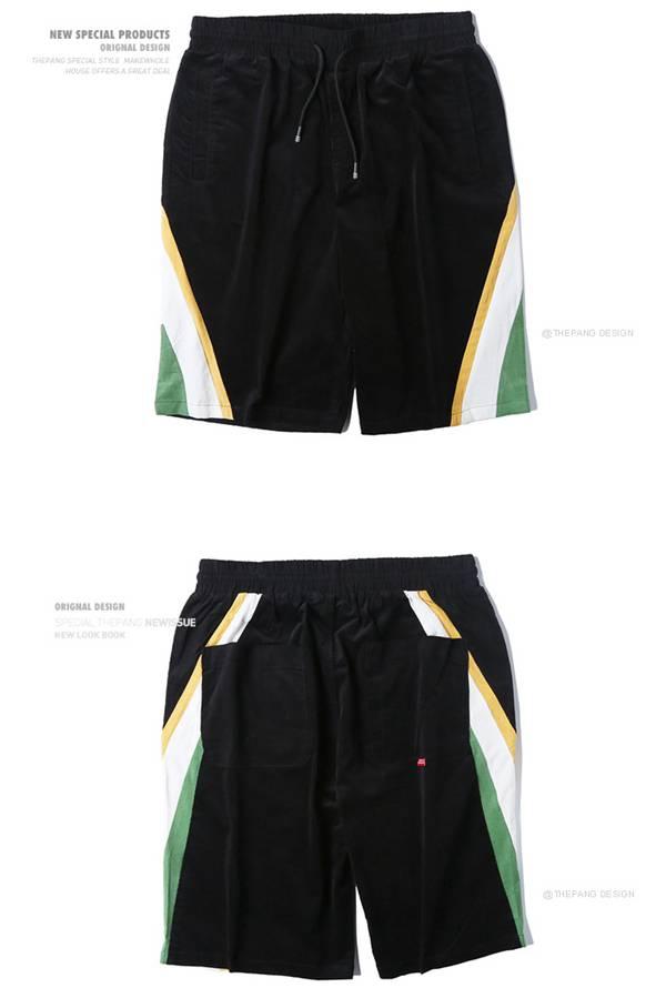 THEPANG灯芯绒休闲裤短裤