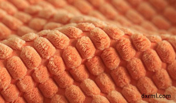 2.5条玉米粒灯芯绒面料,绒型颗粒饱满!