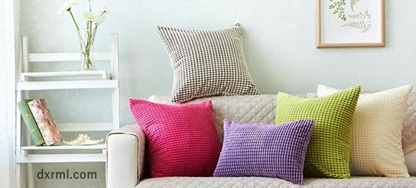 2.5条玉米粒做成的靠枕