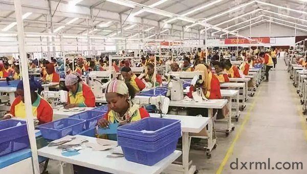 埃塞俄比亚服装厂工人