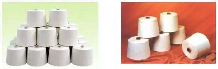 棉纱与人棉纱的鉴别