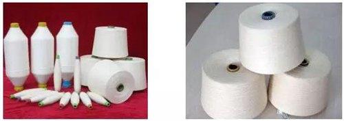 涤棉纱与涤粘纱的鉴别