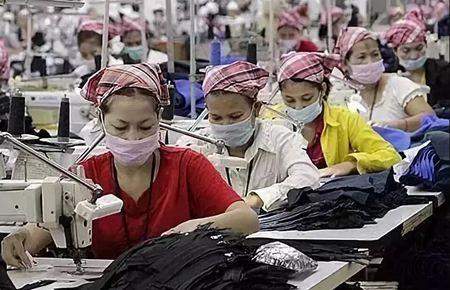 柬埔寨纺织产业
