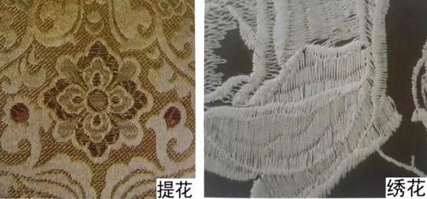大提花与绣花织物的区别