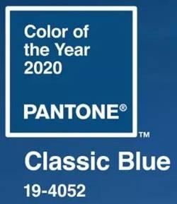 Pantone2020年度色—经典蓝(Classic Blue)