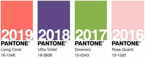 Pantone年度色