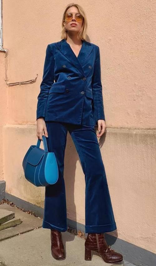 经典蓝(Classic Blue)完美穿搭