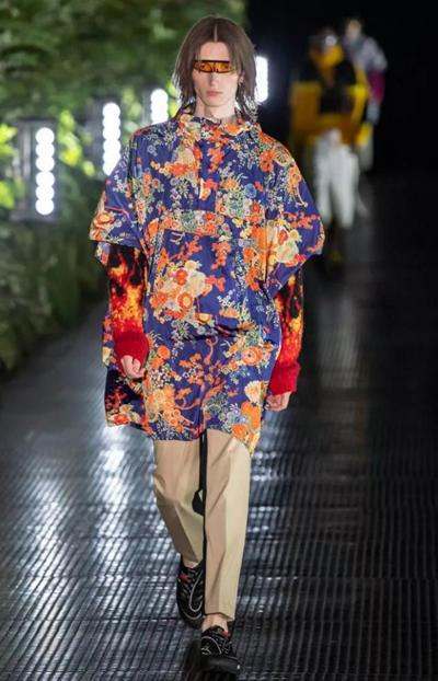 春夏时尚,夏威夷主题印花