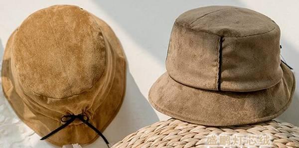 灯芯绒帽子
