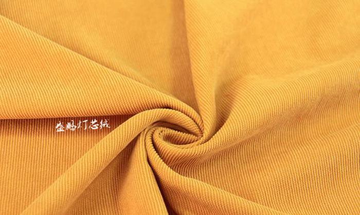 金黄色16条灯芯绒