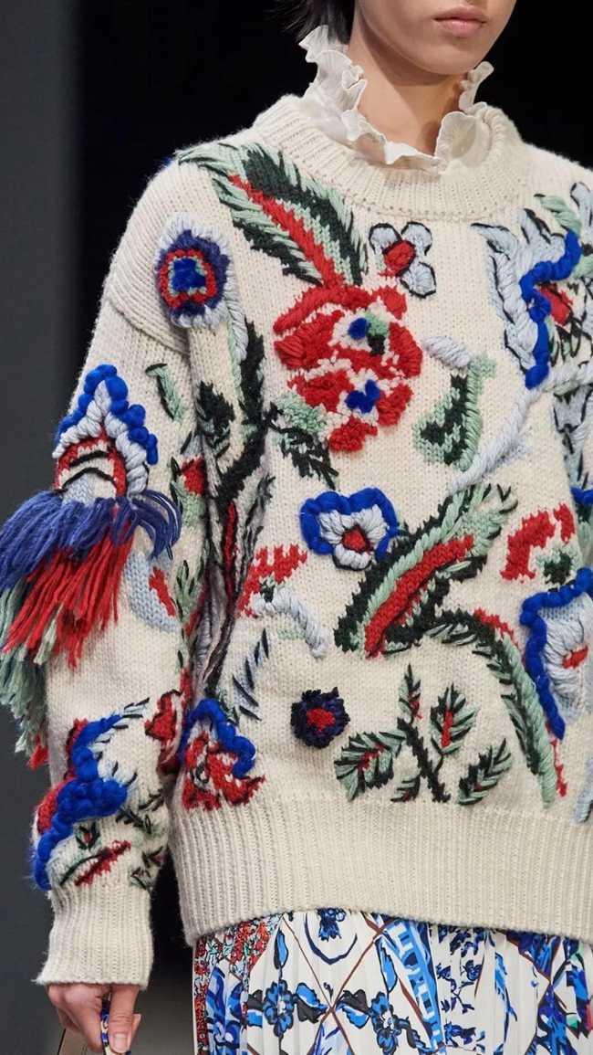 东方精致与针织相遇,时尚行业复古混搭的独特魅力