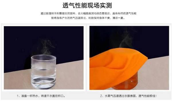 面料如何做吸湿、排汗、速干整理及如何检测?