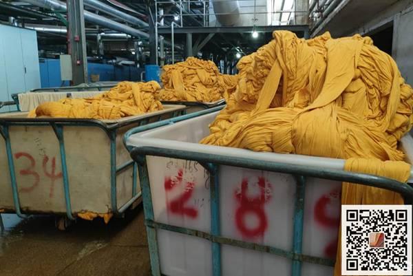 """广东纺织印染行业订单""""报复性""""增长"""