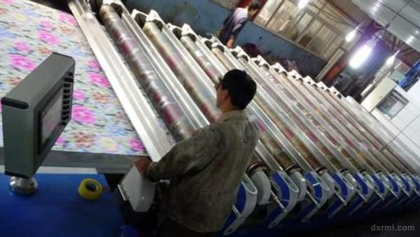 面料印花分类大全:圆网印花(Rotary Print)
